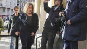 Carles Puyol es uno de los ex azulgranas que han acudido al funeral de Josep Lluís Núñez