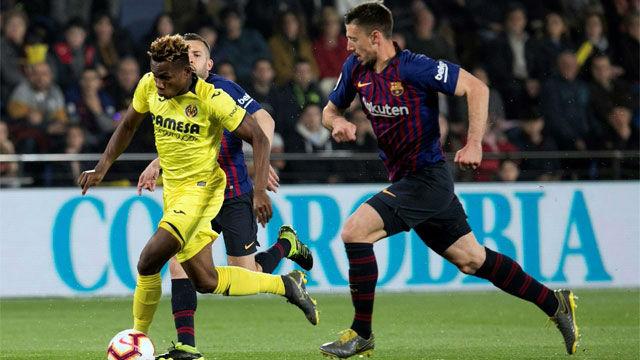 Chukwueze puso contra las cuerdas al Barça. Así fue su gran partido