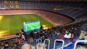 El Clásico también se jugó en el Camp Nou