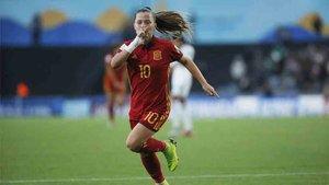 Claudia Pina ha acabado como máxima goleadora del Mundial Femenino Sub 17