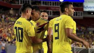 Colombia derrotó a Estados Unidos con la base que jugó el Mundial de Rusia
