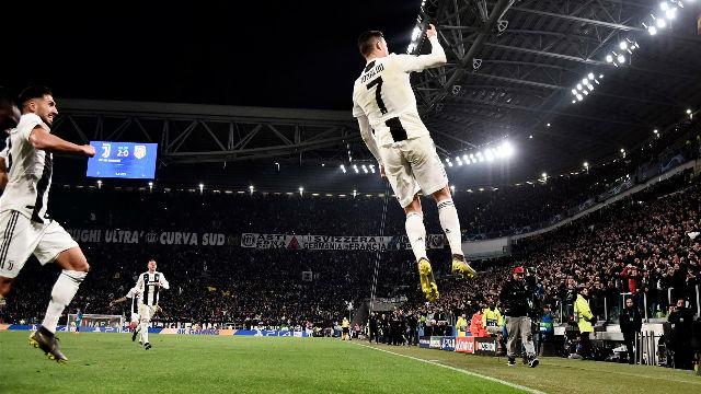 Cristiano abrumó a Juanfran para adalentar a la Juventus