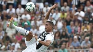 Cristiano Ronaldo, la gran atracción del Calcio