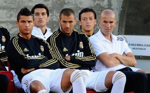 Cristiano y Zidane, separados por Benzema