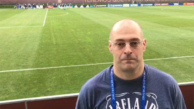 David Rubio nos trae la última hora de la selección desde Krasnodar