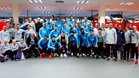 Denis Suárez se despidió de la plantilla del Barça antes de irse a Inglaterra