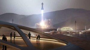 Elon Musk: 1.000 naves y 20 años serían lo necesario para poblar Marte