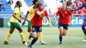 España goleó a Camerún