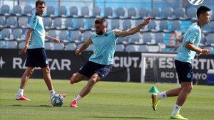 El Espanyol realizará dos entrenamientos este lunes