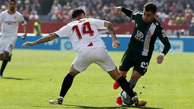 El Espanyol suma un punto ante el Sevilla