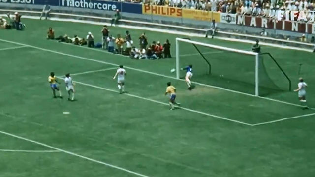 La famosa parada imposible de Gordon Banks a Pelé