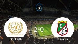 El Flat Earthsuma tres puntos más frente a El Álamo (2-0)