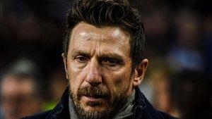 Di Francesco deja de ser el entrenador del AS Roma tras un año y medio