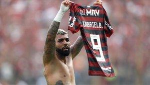 Gabigol es una de las grandes sensaciones tras sus dos goles ante River