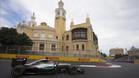 Hamilton el más rápido en Baku