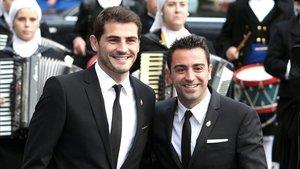 Iker y Xavi, Premio Príncipe de Asturias de los Deportes en 2012