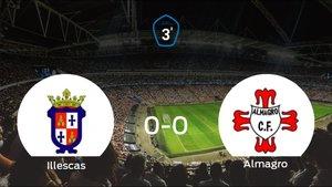El Illescas y el Almagro solo suman un punto (0-0)