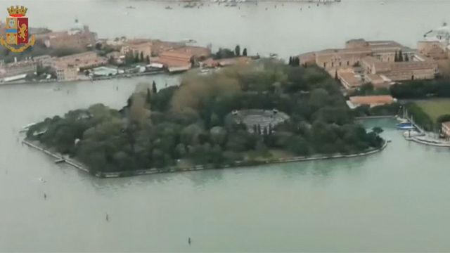 Imágenes de las inundaciones en Venecia