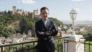 Jiang Lizhang, presidente del Granada.