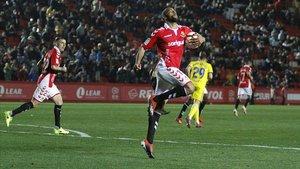 José Kante celebrando un gol