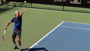 El joven tenista está participando en una competencia en Barranquilla