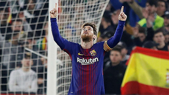 LALIGA | Betis - FC Barcelona (0-5): Messi aprovechó un regalo de Busquets