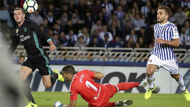 LALIGA | Real Sociedad - Real Madrid (1-3): El gol de Bale