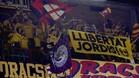 Las peñas de animación del Palau mostrarán su protesta por la situación política en Catalunya