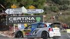 Latvala, durante la última edición del Rally RACC