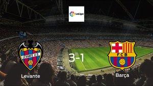 Levante cruise to a 3-1 victory vs. Barcelona at Ciudad de Valencia
