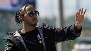 Lewis Hamilton no quiere estresarse con la posibilidad de ser campeón en México
