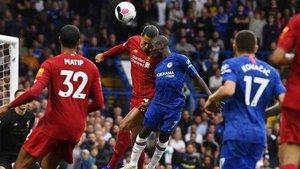 El Liverpool se impuso al Chelsea