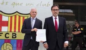 Benedito activa el voto de censura for Oficinas fc barcelona