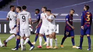 Los bávaros pasaron por encima del Barça en cuartos