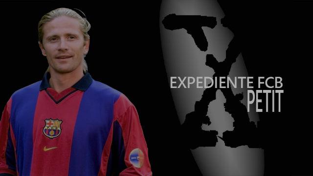 Los Expediente X del Barça: Petit