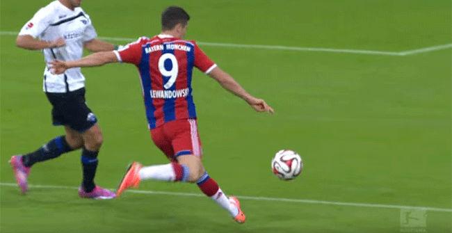 Los mejores goles de Lewandowski en el Bayern