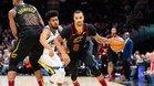 Los Warriors vencieron a los Cavaliers de Cleveland