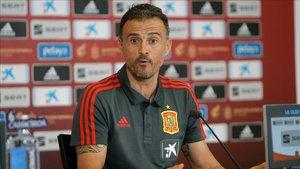 Luis Enrique dará hoy su segunda lista como seleccionador español