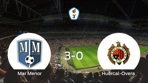 El Mar Menor consigue la victoria ante el Huércal-Overa con una goleada (3-0)