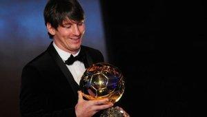 Messi ganó su segundo Balón de Oro en 2010