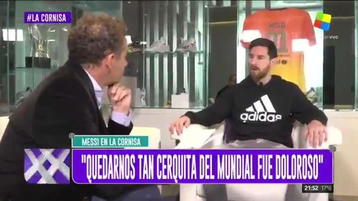 """Leo Messi: """"Ahora como bien pero he comido mal muchos años"""""""