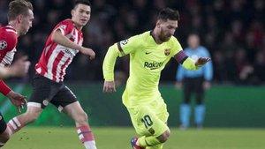 Messi es el máximo realizador de la Champions a pesar de haber jugado solo 3 partidos