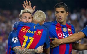 Messi, Neymar y Suárez podrían volver a coincidir en un terreno de juego desde el FC Barcelona - Atlético de Madrid (1-1) del pasado 21 de septiembre
