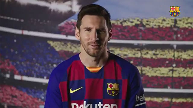 Messi: Que mi hijo me vea en la portada del PES me hace mucha ilusión