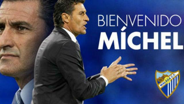 Míchel, nuevo entrenador del Málaga