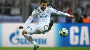 Nacho se ha convertido en un comodín muy provechoso para Zidane