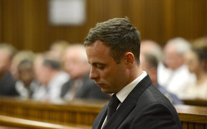 Óscar Pistorius, antes de ser condenado a 5 años de prisión
