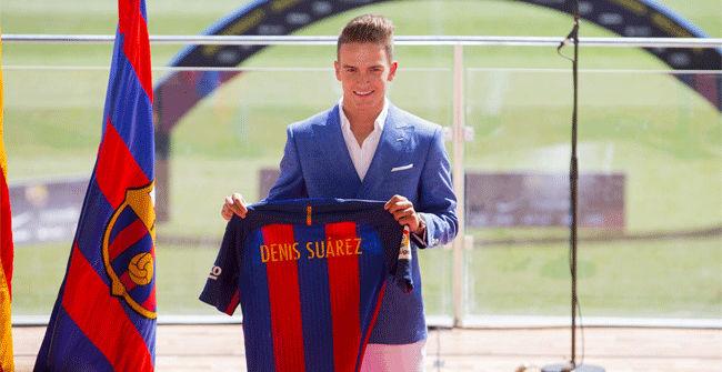 Camiseta FC Barcelona Denis Suárez