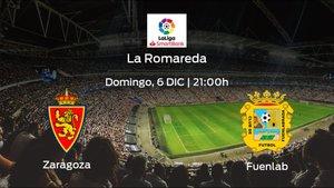 Previa del encuentro: Real Zaragoza - CF Fuenlabrada