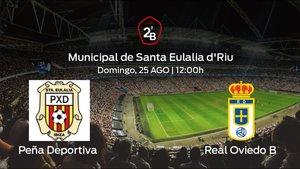 Previa del partido: primer partido de la competición para el Peña Deportiva contra el Real Oviedo B